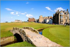 Wall sticker  Golf course in St. Andrews - Bill Bachmann