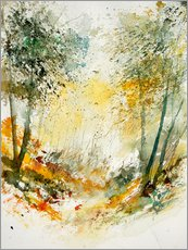 Gallery print  The forest in autumn - Pol Ledent