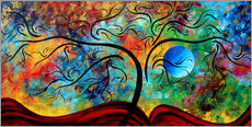 Gallery print  blue moon rising - Megan Duncanson