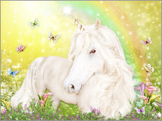 Gallery print  Unicorn of Happiness - Dolphins DreamDesign