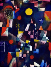 Acrylic print  The full moon - Paul Klee