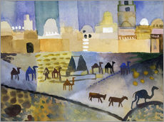 Wall sticker  Kairouan I - August Macke