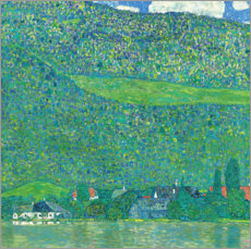 Premium poster  Litzlberg on the Attersee - Gustav Klimt