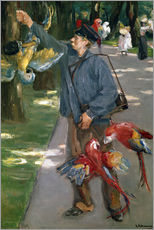 Wall sticker  Man with Parrots - Max Liebermann
