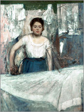 Wall sticker  The Woman Ironing - Edgar Degas