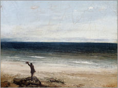 Gallery print  The coast at Palavas - Gustave Courbet