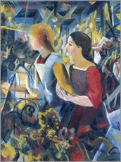 Wall sticker  Two girls - August Macke
