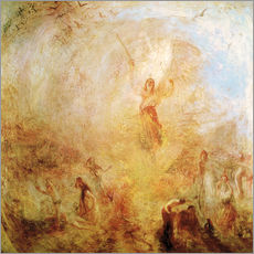Wall sticker  The Angel Standing in the Sun - Joseph Mallord William Turner