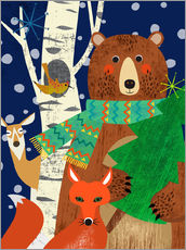 Gallery print  Holidays in the woods - Elisandra Sevenstar
