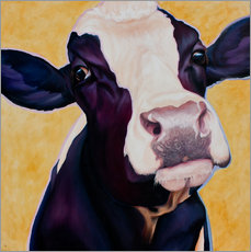 Wall sticker  Cow Gertie - Renate Berghaus