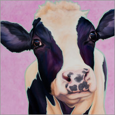 Wall sticker  Cow Lotte - Renate Berghaus