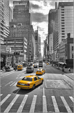 Gallery print  new York Yellow Cab - Marcus Klepper