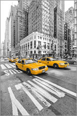 Wall sticker  Yellow Taxi / Cab, New York - Marcus Klepper