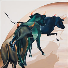 Wall sticker  bulls 1 - Renate Berghaus