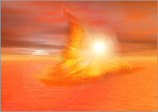 Wall sticker  The Fire Angel - Dolphins DreamDesign