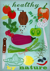Wall Stickers  Healthy by nature - Elisandra Sevenstar