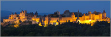 Gallery print  France - Castle Carcassone - Tobias Richter