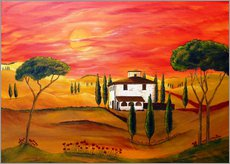 Gallery print  Warmth of Tuscany - Christine Huwer