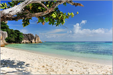 Wall sticker  Wonderful Beach of the Seychelles - Jürgen Feuerer