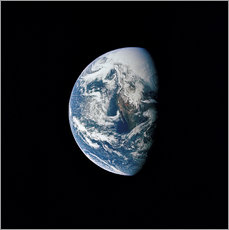 Gallery print  View of the Earth from the spacecraft Apollo 13 - Stocktrek Images