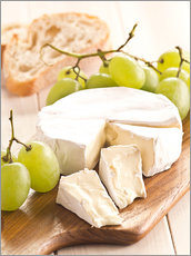 Wall sticker  French soft cheese - Edith Albuschat