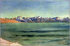 Wall sticker  Sunrise Over Mont Blanc - Ferdinand Hodler