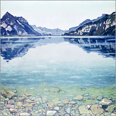 Wall sticker  Lake Thun, Leissigen - Ferdinand Hodler