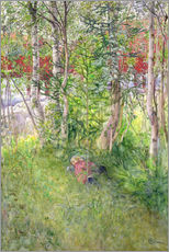 Gallery print  A Nap Outdoors - Carl Larsson
