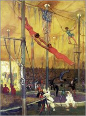 Gallery print  Trapeze artists - Francis Luis Mora
