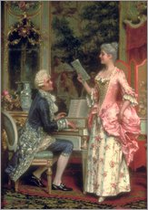 Wall sticker  The Singing Lesson - Arturo Ricci
