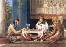 Wall sticker  Egyptian Chess Players - Lawrence Alma-Tadema