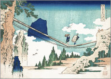 Wall sticker  Minister Toru, from the series Poems of China and Japan - Katsushika Hokusai