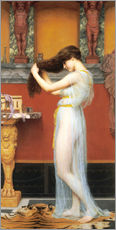 Wall sticker  The Toilet - John William Godward