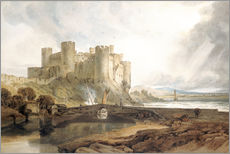 Gallery print  Conway Castle, c.1802 - Joseph Mallord William Turner