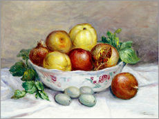 Gallery print  Still Life with a Pomegranate - Pierre-Auguste Renoir