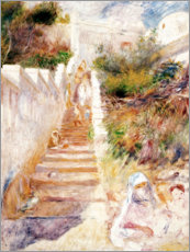 Wall sticker  The Steps, Algiers - Pierre-Auguste Renoir