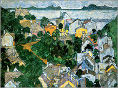 Wall sticker  Summer landscape - Egon Schiele