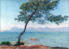 Aluminium print  The esterel mountains - Claude Monet