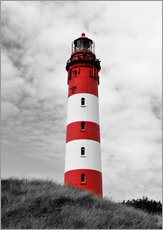 Gallery print  Lighthouse in Amrum, Germany - HADYPHOTO
