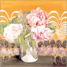 Gallery print  Peonies - Charles Rennie Mackintosh