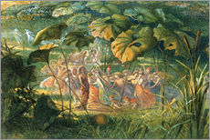 Gallery Print  Fairy Dance in a Clearing - Richard Doyle