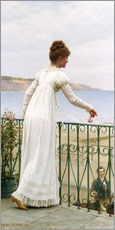 Gallery print  A Favour, 1898 - Edmund Blair Leighton
