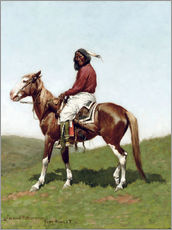 Gallery print  Bold Comanche in Fort Reno, 1888 - Frederic Remington