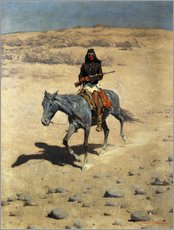 Gallery print  Apache Indian - Frederic Remington
