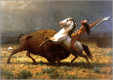 Gallery print  The Last of the Buffalos - Albert Bierstadt