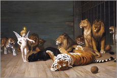 Gallery print  Whoever you are, Here is your Master - Jean Leon Gerome