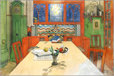 Gallery print  Day is Done, Good Night! - Carl Larsson