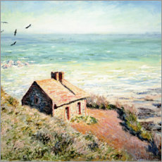 Aluminium print  Fisherman's Hut, Varengeville - Claude Monet