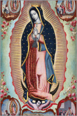 Wall sticker  Virgin of Guadalupe - Nicolas Enriquez