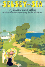Gallery print  Selsey on Sea - English School